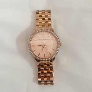 Michael Kors Rose Gold Stainless Steel Watch